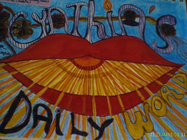 Cynthia daily word logo