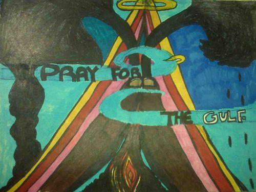 Pray for the Gulf: Pyramid of Prayer.